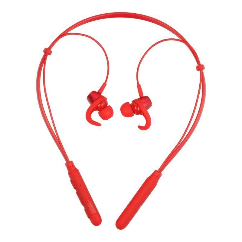 PURIDEA zestaw słuchawkowy stereo bluetooth TWS A8 M03 czerwone