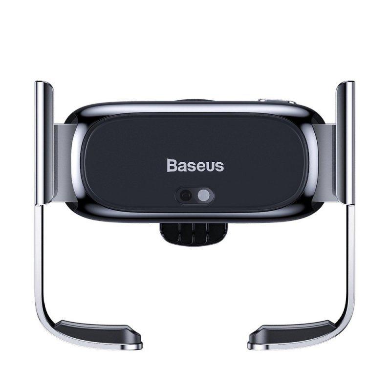 BASEUS uchwyt samochodowy grawitacyjny na krate wlotu Mini Electric srebrny SUHW01-0S