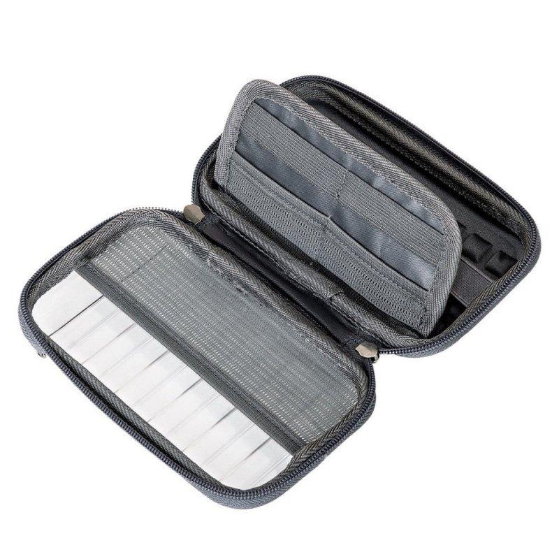 BASEUS pokrowiec / etui / torba wstrząsoodporna HERMIT na telefon / dysk / navi / akcesoria czarna LBFZ-A02