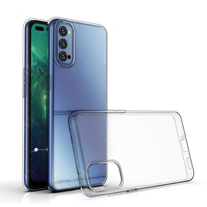 Futerał Back Case Ultra Slim 0,5mm do OPPO Reno 4