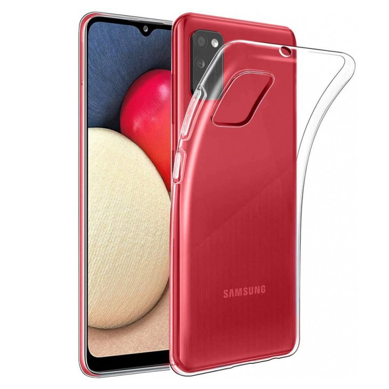 Futerał Back Case Ultra Slim 0,5mm do SAMSUNG Galaxy A02s