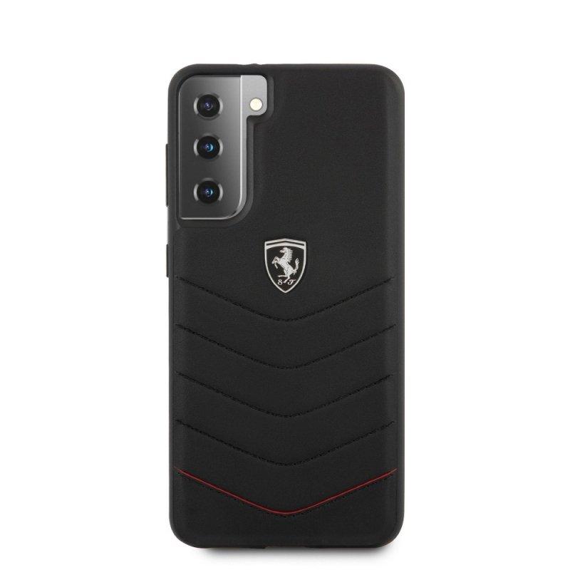Oryginalne Etui Ferrari Hardcase FEHQUHCS21MBK do Samsung S21 Plus czarny