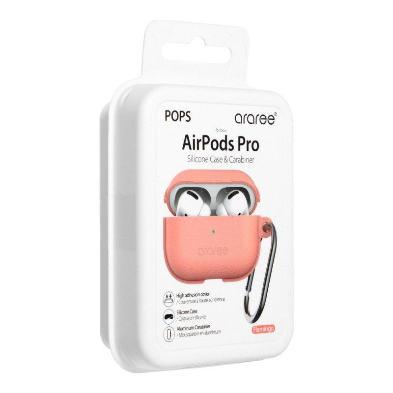 Futerał ARAREE Pops do Airpods PRO różowy