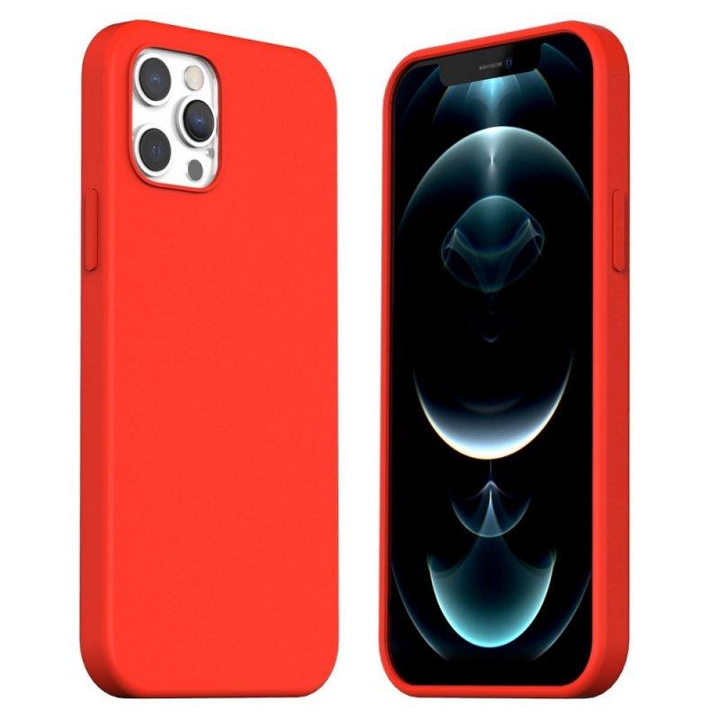 Futerał ARAREE Typoskin do IPHONE 12 / 12 PRO czerwony