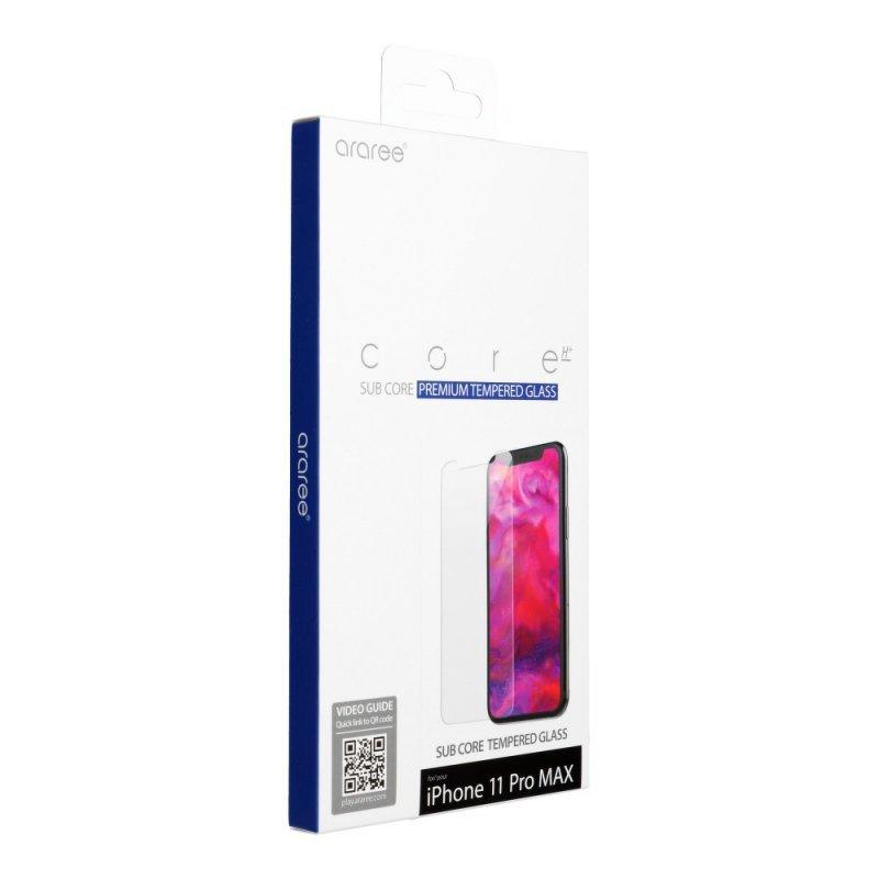 Szkło hartowane ARAREE Sub Core do IPHONE 11 PRO MAX transparent