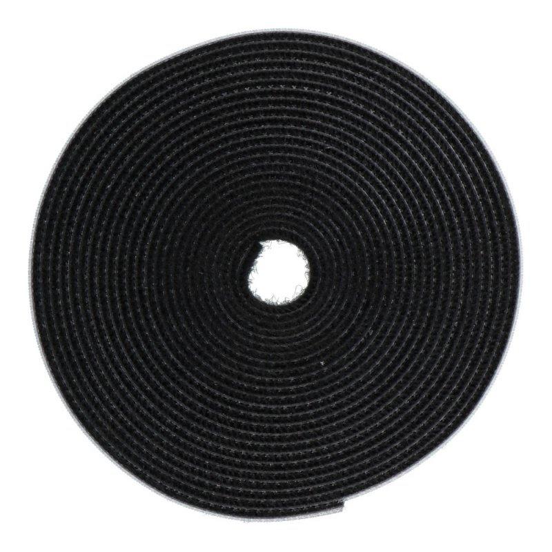 BASEUS samoprzylepny organizer do kabli owijka kabla na rzep 3 metry czarny ACMGT-D01
