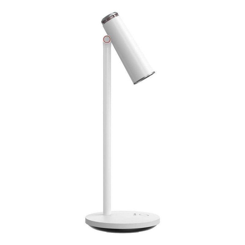 BASEUS lampka biurkowa lampa LED bezprzewodowa akumulator 1800 mah biały DGIWK-A02