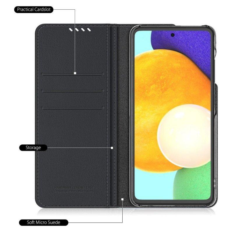 Futerał ARAREE Mustang Diary do SAMSUNG A52 LTE / A52 5G black