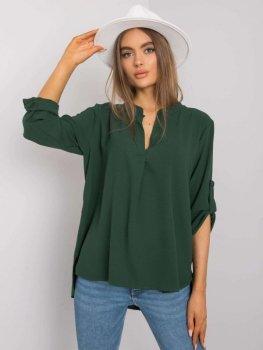 Bluzka-DHJ-BZ-11032.31P-ciemny zielony