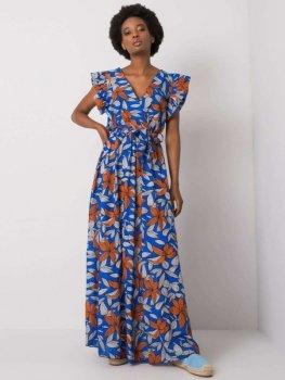 Sukienka-DHJ-SK-13570.40P-ciemny niebieski