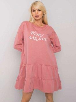 Sukienka-FA-SK-6994.38X-ciemny różowy