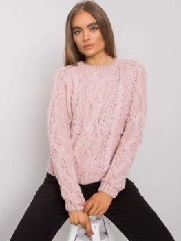 Sweter-TO-SW-0410.70-jasny różowy