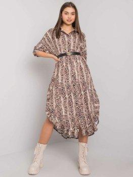 Sukienka-TW-SK-BI-32556-1.62P-beżowy