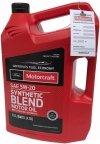 Olej silnikowy Motorcraft 5W20 SYNTHETIC BLEND MOTOR OIL 4,73l Lincoln Mercury