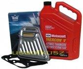 Filtr oraz syntetyczny olej Motorcraft MERCON V automatycznej skrzyni biegów AXOD Mercury Sable