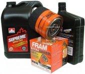 Filtr oleju FRAM PH16 oraz olej SUPREME 10W30 Chrysler 300M