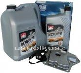 Filtr oraz olej Dextron-VI automatycznej skrzyni biegów Nissan Quest -1997