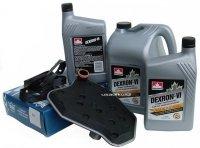 Filtr oraz olej Dextron-VI automatycznej skrzyni biegów 4R70W Mercury Mountaineer 1999-2001