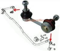 Łącznik stabilizatora tylnego Mitsubishi Lancer 2008- exc. Evolution