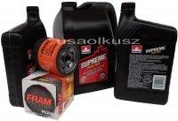 Olej 5W30 oraz filtr oleju silnika GMC Savana 2003-2006