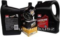 Filtr oraz mineralny olej 5W30 GMC Sierra 2007-