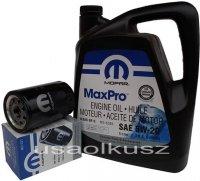 Orygimalny MOPAR filtr oraz olej 5W20 Jeep Cherokee 3,7 V6 2009-