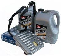 Filtr oraz olej Dextron-VI automatycznej skrzyni biegów Chrysler 300M