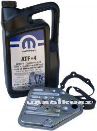 Olej MOPAR ATF+4 oraz filtr automatycznej skrzyni 3SPD Dodge Stratus