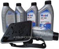 Filtr oraz olej skrzyni 4SPD Mobil ATF320 Chrysler Saratoga