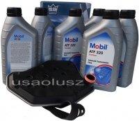 Filtr oraz olej skrzyni biegów Mobil ATF320 Ford Mustang 1996-2004