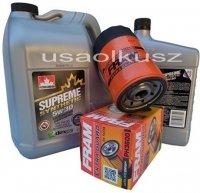 Filtr oleju oraz syntetyczny olej 5W30 Jeep Liberty 3,7 V6 -2008