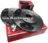 Klocki oraz tarcze hamulcowe tylne 328mm Lancia Voyager 2012-