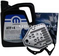 Olej MOPAR ATF+4 oraz filtr automatycznej skrzyni 3SPD Chrysler Neon