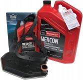 Filtr + olej skrzyni biegów Motorcraft MERCON V Mercury Mountaineer 5,0 V8