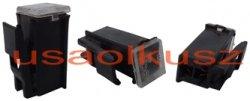 Bezpiecznik samochodowy kostkowy żeński mini z zatrzaskiem JAPVAL FUSE MINI FEMALE CLIP 80A
