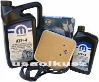 Olej MOPAR ATF+4 oraz filtr oleju skrzyni biegów 42RE Dodge Dakota -1998