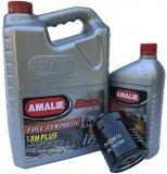 Filtr oraz syntetyczny olej AMALIE 5W30 Chevrolet Astro