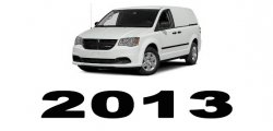 Specyfikacja RAM Cargo Van 2013