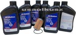 Filtr olej silnikowy 5W-30 Dexos2 Full Synthetic ACDelco Cadillac SRX V6