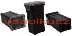 Bezpiecznik samochodowy kostkowy żeński mini JAPVAL FUSE MINI FEMALE 80A