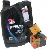 Filtr oraz mineralny olej 5W30 Buick LaCrosse 2,4 2010-