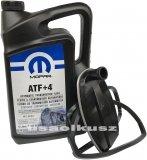 Olej MOPAR ATF+4 oraz filtr automatycznej skrzyni biegów NAG1 Dodge Challenger