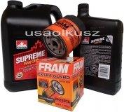 Filtr oraz mineralny olej 5W30 Pontiac Trans Sport