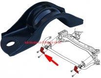 Obejma gumy stabilizatora zewnętrzna Dodge Charger RWD