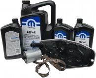Olej MOPAR ATF+4 oraz filtry skrzyni biegów Jeep Grand Cherokee AWD 2000-2010