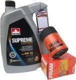 Filtr oleju oraz syntetyczny olej 5W30 Dodge Durango 3,7 V6 -2008
