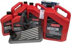 Filtr + olej Motorcraft Mercon V skrzyni biegów 4R100 Ford Bronco 4x4