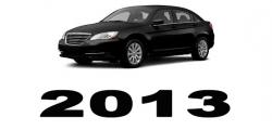 Specyfikacja Chrysler 200 2013