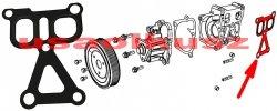 Uszczelka obudowy pompy wody Dodge Avenger 2008-