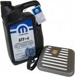 ORYGINALNY olej MOPAR  ATF+4 5l oraz filtr oleju automatycznej skrzyni biegów Chrysler New Yorker